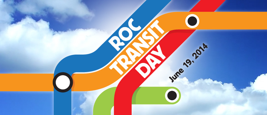 ROC Transit Day is coming! Learn more...