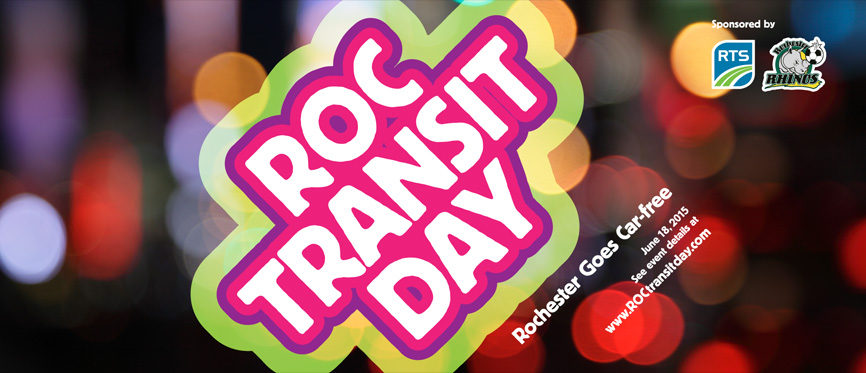 ROC Transit Day is coming! June 18, 2015