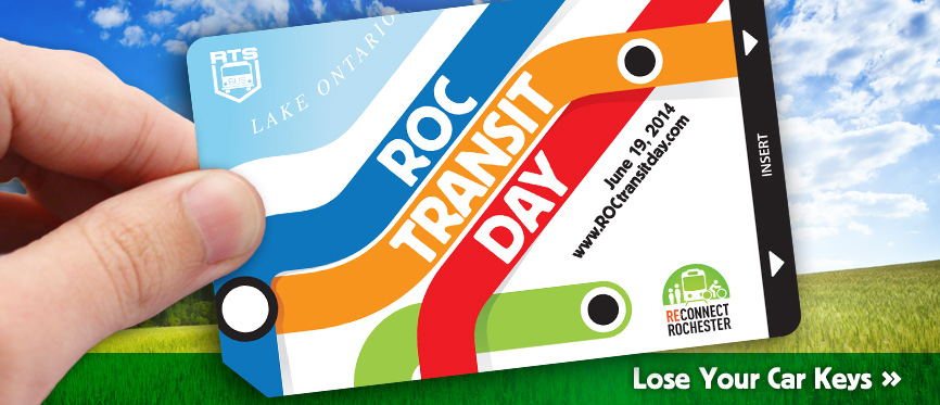 ROC Transit Day is June 20. Click for details...