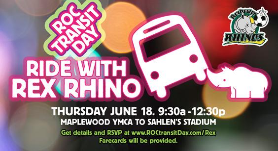 Bus Ride with Rex to Sahlen's Stadium