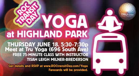 Tru Yoga Bus Ride to Highland Bowl
