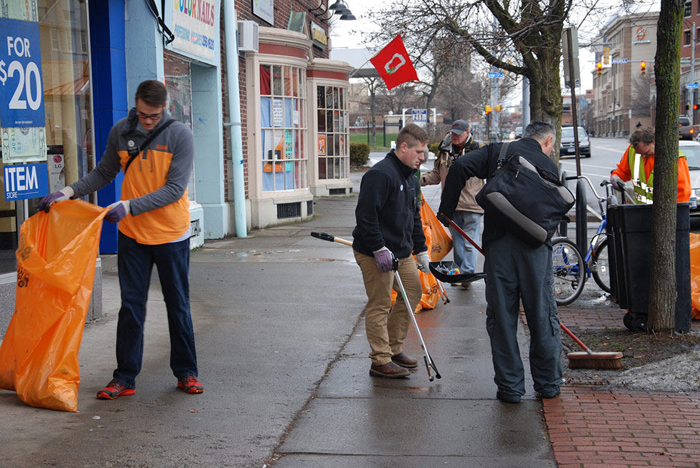 Join the volunteers at Reconnect Rochester and Flower City AmeriCorps for The Great Rochester Snow Down.