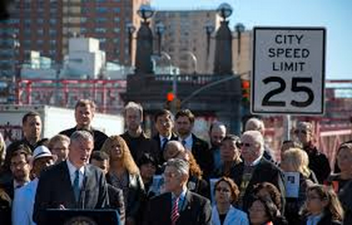 New Citywide 25MPH Speed Limit in NYC. [PHOTO: Vision Zero, NYC.gov]
